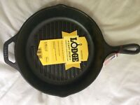 Brand new 10 1/4 inch Lodge Griddle pan