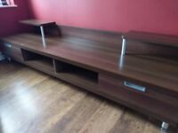 Quality TV Cabinet with drawers and shelving