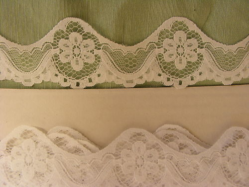 Flat  Lace White - 176 meters (359)