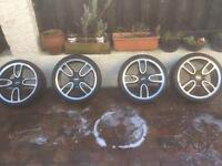 Four Wheels great condition