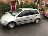 5 door Ford Fiesta, great condition and cheap to run. 106200 miles, MOT valid till March 2018
