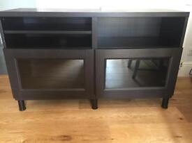 Ikea Besta TV unit/ display cabinet