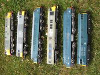 6 oo gauge locomotives