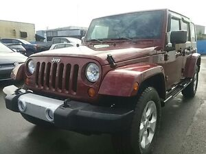 2008 Jeep Wrangler Unlimited Sahara 4X4
