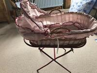 Toy Baby cot and stand