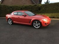 2003 Mazda RX8 231 bhp with FSH, Standard with all work just done and full mot