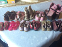 Girl's shoes, boots and slippers for aged 1-6 (sizes 4-11)