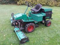 Ransomes 213d Triple Gang Lawnmower with Kabota Diesel engine