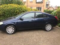 NISSAN PRIMERA ** 1800cc ** SE ** JUST 3 OWNER FROM NEW ** SOME SERVICE HISTORY * 2003