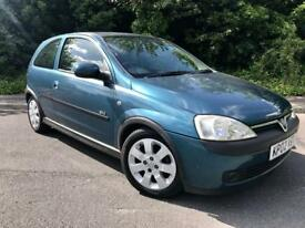 Vauxhall corsa 1.2 SXI very low mileage