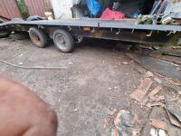Ifor Williams Bradley plant transporter
