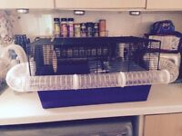 Hampster cage & accessories