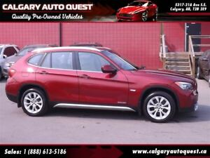 2012 BMW X1 xDrive28i AWD/LEATHER/PANO-ROOF/MUST SEE