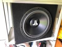 Jl audio subwoofer speaker car audio