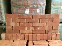 65MM VICTORIAN ORANGE WIRECUT BRICKS @ £0.78 EACH.