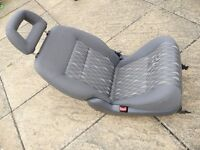 FORD GALAXY REAR SEAT GREY CLOTH EXCELLENT CONDITION SEAT BELT ON RIGHT SIDE