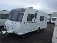 2017 bailey pegasus modena 4 berth end bedroom caravan