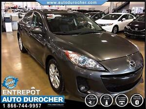 2012 Mazda Mazda3 GS-SKY TOUT ÉQUIPÉ CUIR TOIT OUVRANT JANTES