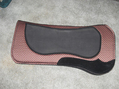 NEW BREATHABLE NEOPRENE FELT WITH PIMPLE GRIP WESTERN SADDLE PAD  for sale  Hastings