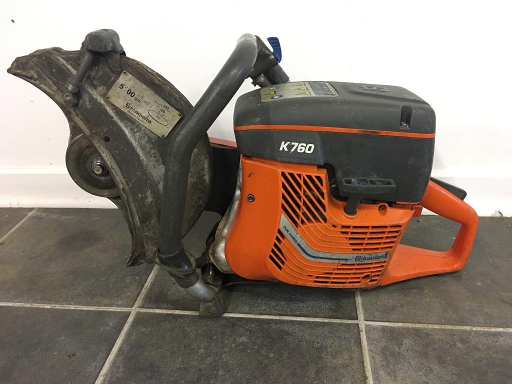 "K760 12"" husqvarna concrete saw"