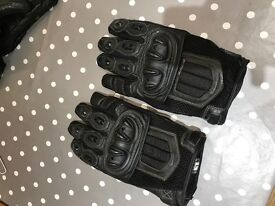 Selection of large Motorbike gloves