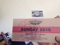 2016 Goodwood revival sunday ticket 11/09/2016