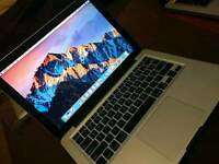 """Boxed Apple MacBook Pro 13"""" 256 hardrive 8gb ram. Case charger cheap"""