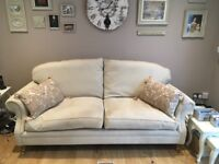 Beautiful Laura Ashley Large Two Seater Hereford Sofa
