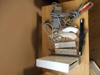 Wii with accessories for sale