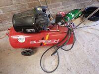 Air Compressor 100 litre 3HP 230v Burisch