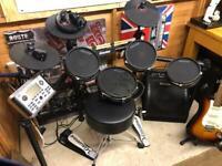 Carlsboro electric drum kit / amp / stool
