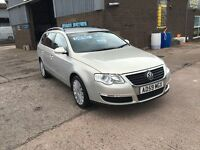 2009 VOLKSWAGEN PASSAT 2.0 TDI CR HIGHLINE ESTATE,ONLY 84000 MILES WITH FULL SERV HISTORY,LEATHER