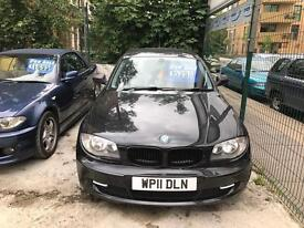 BMW 116D 2011 3doors 6 speed in excellent condition 2 keys £30 road tax