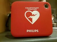 NEW PHILIPS HS1 DEFIBRILLATOR AED FOR MEDICAL DENTAL USE GP GYM COMMUNITY