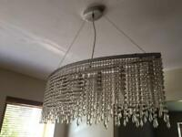 House Clearance! Light fittings - hanging or free standing