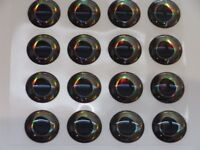 3d real fish eyes for fly tying,lures,etc