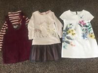 Bundle of girls clothes age 3-4 years