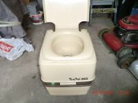 Porta Potti chemical toilet
