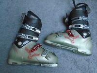 Ski Boots, Poles & Goggles