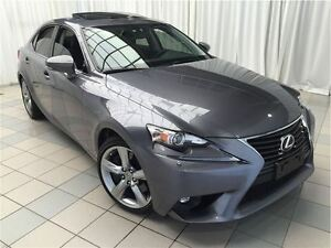 2015 Lexus IS 350 AWD Premium Package: 1 Owner.