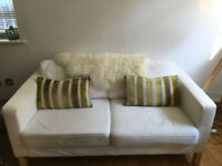 LAST CHANCE TO BUY! -2 seats IKEA KARLSTARD Sofa in good condition! Pick-up by Sunday 18th March