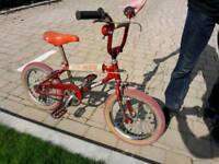 "Puch mini BMX 16"" wheels retro not burner"