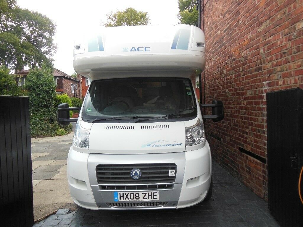 2008 Ace Adventurer Motorhome  Genuine 23000 miles  MOT till March 2019,  Many extras included  | in Trafford, Manchester | Gumtree