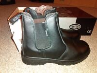 Steel Capped Boots size 8