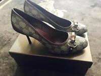 Genuine Ladies Gucci Shoes, size 7