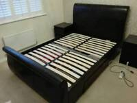 Double Bed - Faux Leather - Dreams