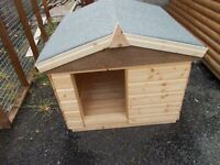 NEW HEAVY BUILT 3X3 DOG KENNEL £130.00