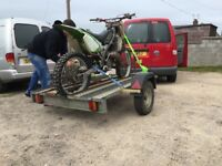 Motorbike motocross quad trailer