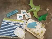 Kids dinosaur bedding set