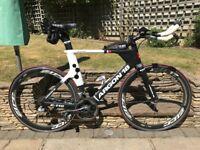 Argon 18 E116 time trial/triathlon bike for sale. Perfect mid level long course bike